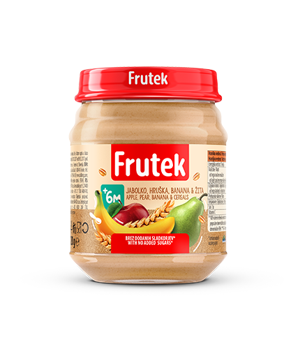 Frutek Puree Apple Pear Banana