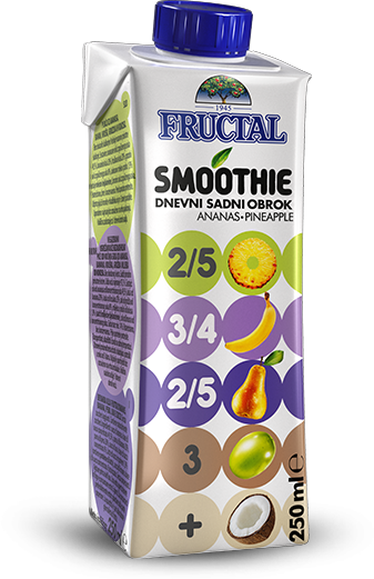 Fructal Smoothie Ananas